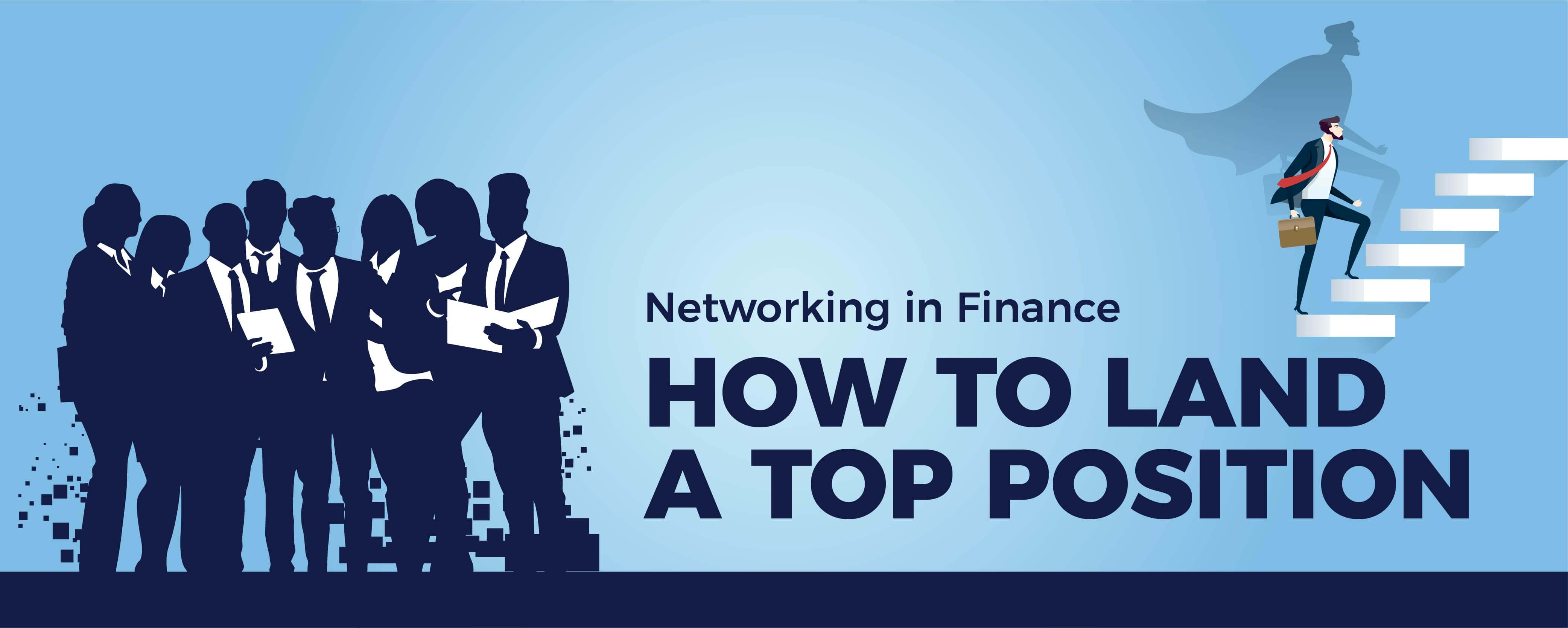 Networking In Finance ($105k+, Investment Banking & More)